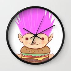 Hamburger Troll Wall Clock