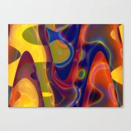 Pastel Colours Design Canvas Print