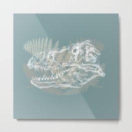 Tyrannosaurus Rex Skull Metal Print