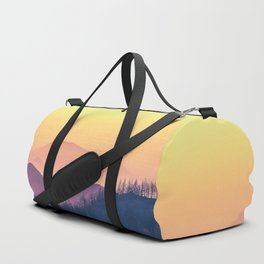 Calm Yellow Sunset Duffle Bag