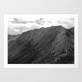 //05-06 HANGING VALLEY Art Print