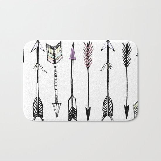 Arrows & more arrows Bath Mat