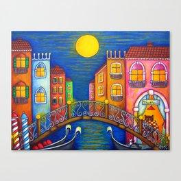 Moonlit Venice Canvas Print