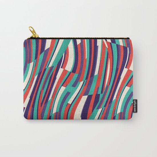 Respect Lines Carry-All Pouch