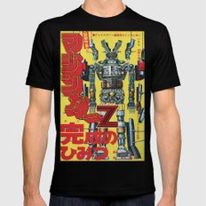 Manga 01 MEDIUM Black Mens Fitted Tee