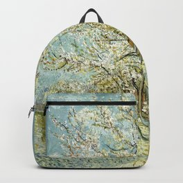 Vincent Van Gogh Peach Tree In Blossom Backpack