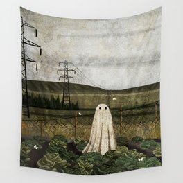 There's A Ghost in the Cabbage Patch Again... Wall Tapestry