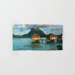 Bora Bora Tahiti Bungalow 2 Hand & Bath Towel