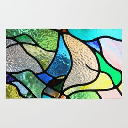 Stained glass Rug