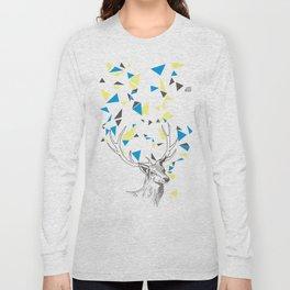 Rainbow Collection / deer Long Sleeve T-shirt