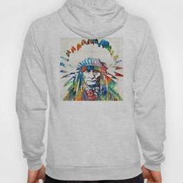 Native American Art - Chief - By Sharon Cummings Hoody