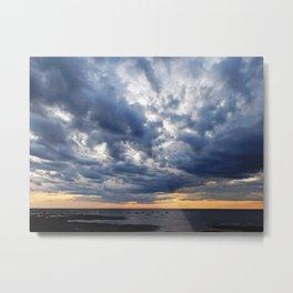 Clouds on the Sea Metal Print