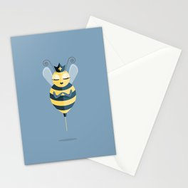 Queen of My Vaccine Stationery Cards