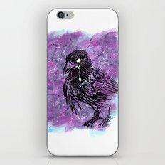 Crying Crow iPhone Skin