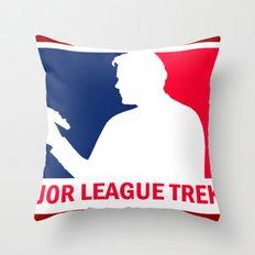 Major League Trekkie Throw Pillow