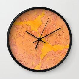 Peachy Dreams.. Wall Clock