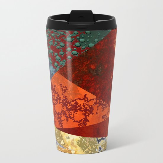 Abstract #300 Oxidation Metal Travel Mug