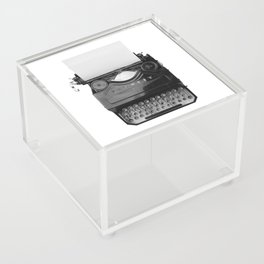 typewriter Acrylic Box