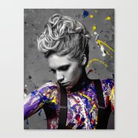 splatter Canvas Prints featuring Splatter by brendan | carlson photography