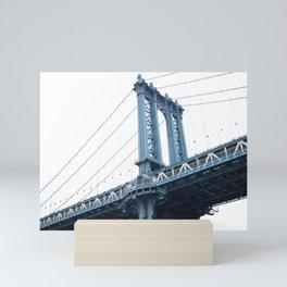 Manhattan Bridge NYC Mini Art Print