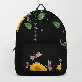 New Hampshire Hackensack Sunflower hope love Gifts For Men Women Backpack
