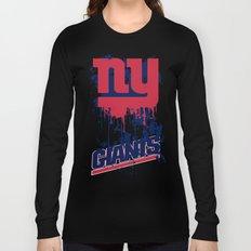 ny giants design 2 Long Sleeve T-shirt