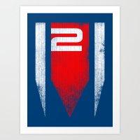ME2 - Mass Effect Art Print