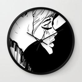 bad romance II Wall Clock