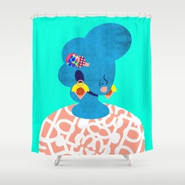 Earrings No. 2 Shower Curtain