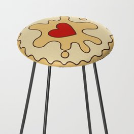 Jammy Dodger British Biscuit Counter Stool