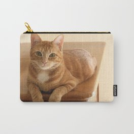 Canelle the red tabby Carry-All Pouch