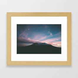 Mount Saint Helens III Framed Art Print