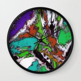 Mind motion 2 Wall Clock