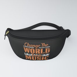 Piano Pianist Fanny Pack