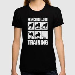 French Bulldog Frenchie Bully Training T-shirt