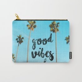Good LA Vibes Only #society6 #lifestyle Carry-All Pouch