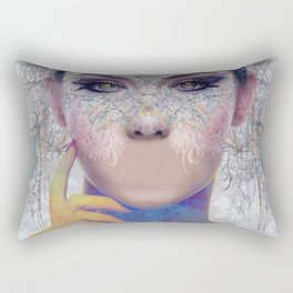 Speechless Rectangular Pillow