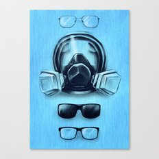 All I See Is Blue Canvas Print