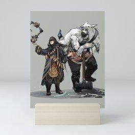Riku and Direfang Mini Art Print