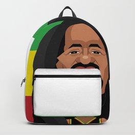 The Legend of Reggae Musician Backpack