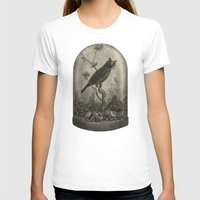 surrealism T-shirts featuring The Curiosity  by Terry Fan