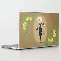 transistor Laptop & iPad Skins featuring Retro Sailor Star Healer by Crimson Pumpkin