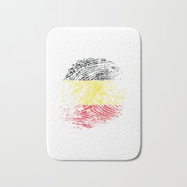 Belgium Flag Vintage Belgian It's In My Dna Gift Bath Mat