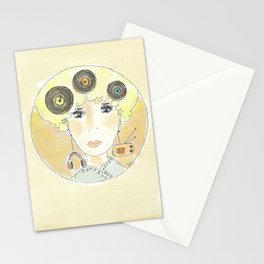 Thoughts at 45 rpm Stationery Cards