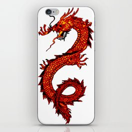 Mythical Red Dragon iPhone Skin