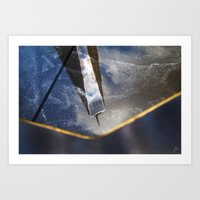 Reflexion 2 Art Print