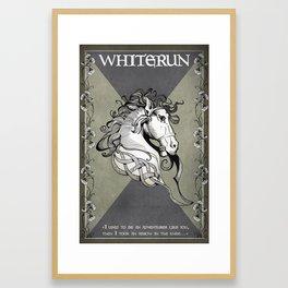 Whiterun Framed Art Print
