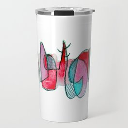 GARABATO cuernos rojos Travel Mug
