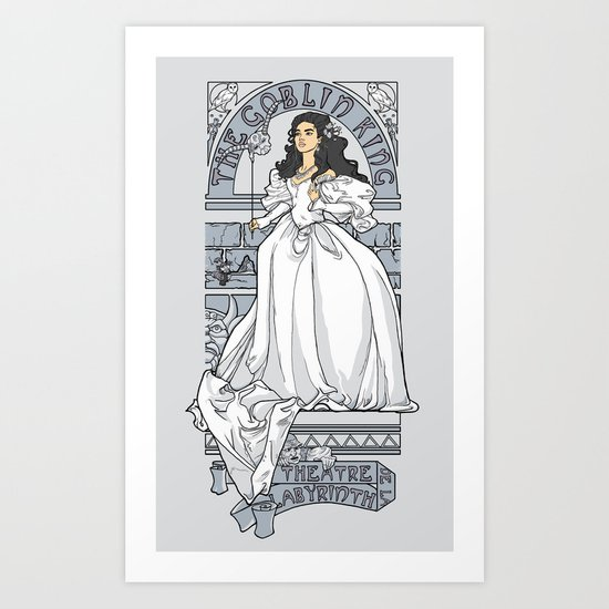 Theatre de la Labyrinth v2 Art Print