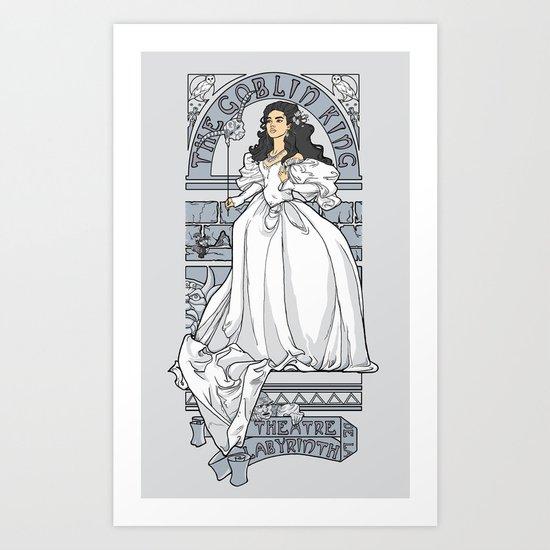 Theatre de la Labyrinth v2 Art Print